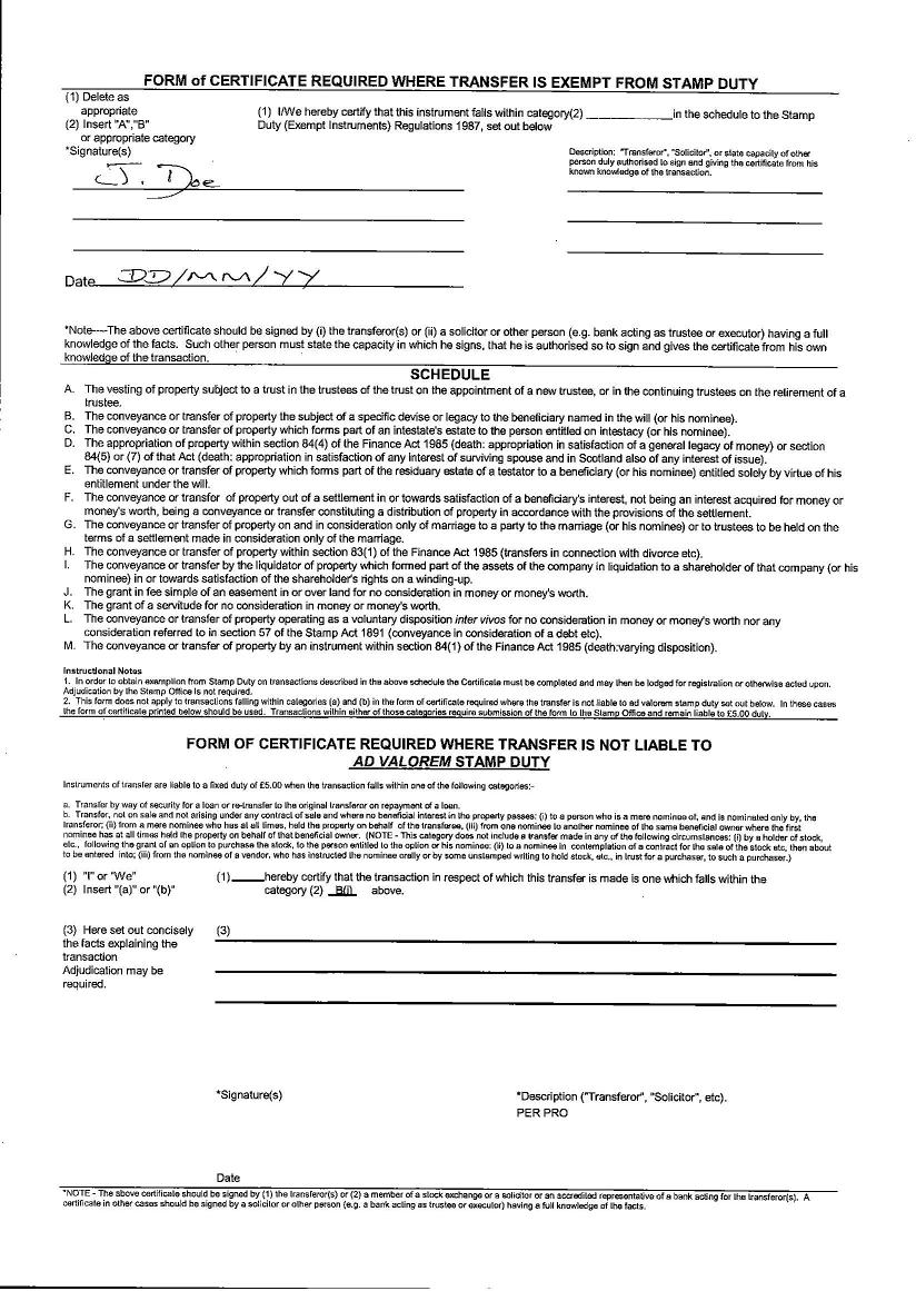 Sharedeal active useful forms front of stock transfer form sample 1betcityfo Gallery